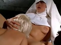 Lesbo nun licks her mother superior in... lesbian xxx