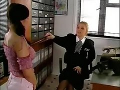 Police lesbian punishes teenage slutty on... lesbian xxx